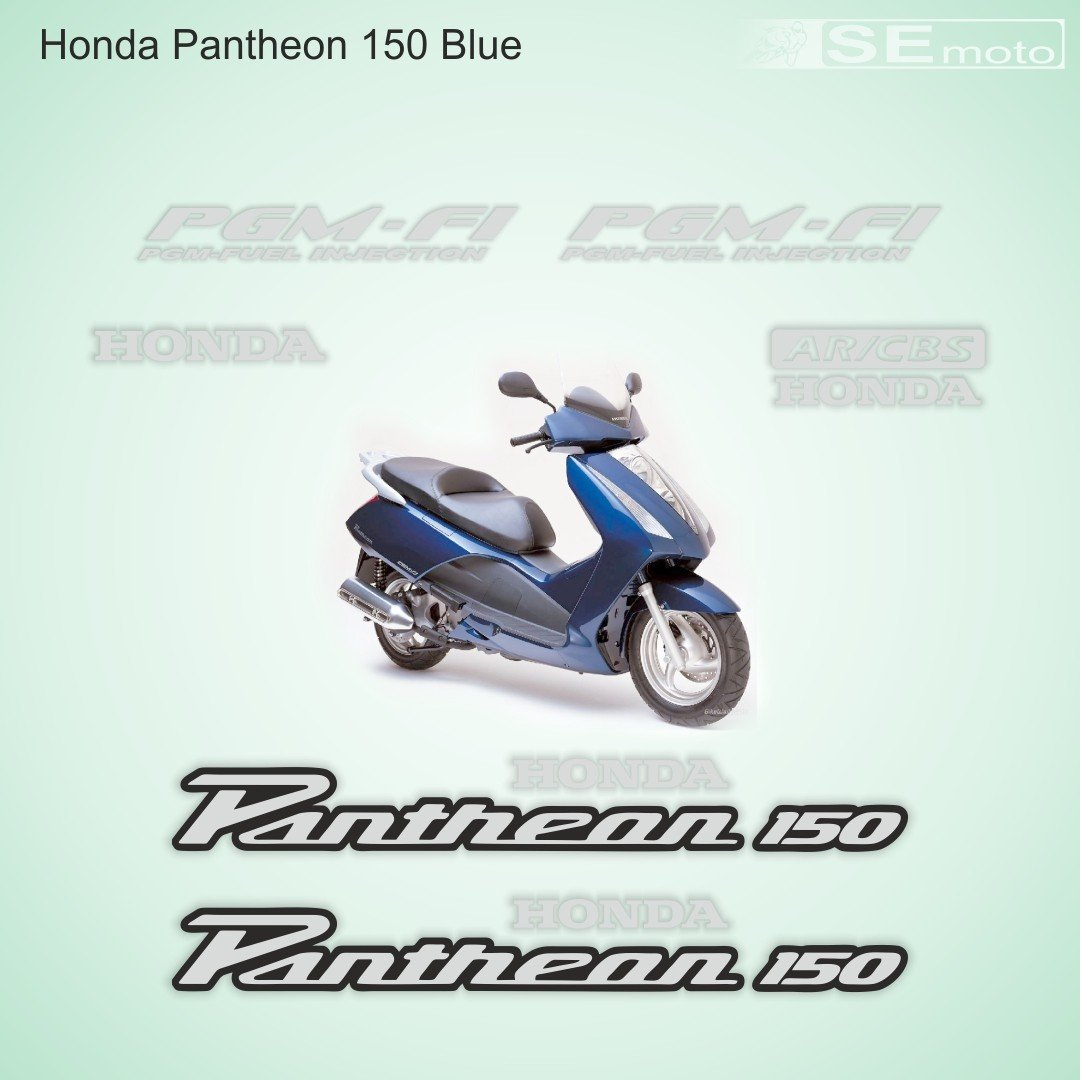 HONDA Pantheon синий